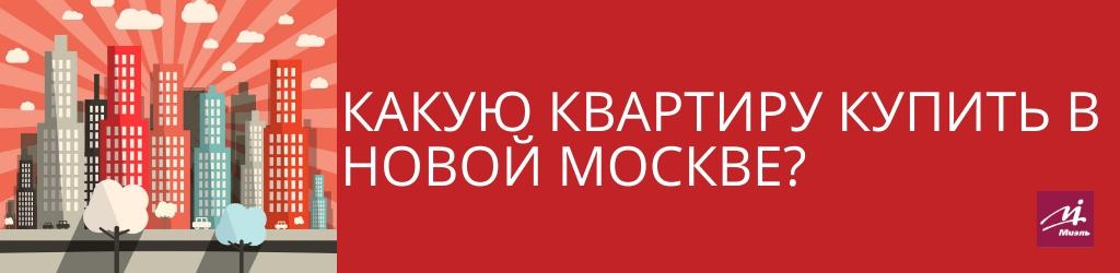 квартиру купить в Новой Москве