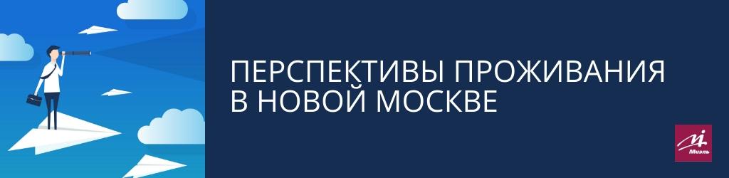проживание в Новой Москве